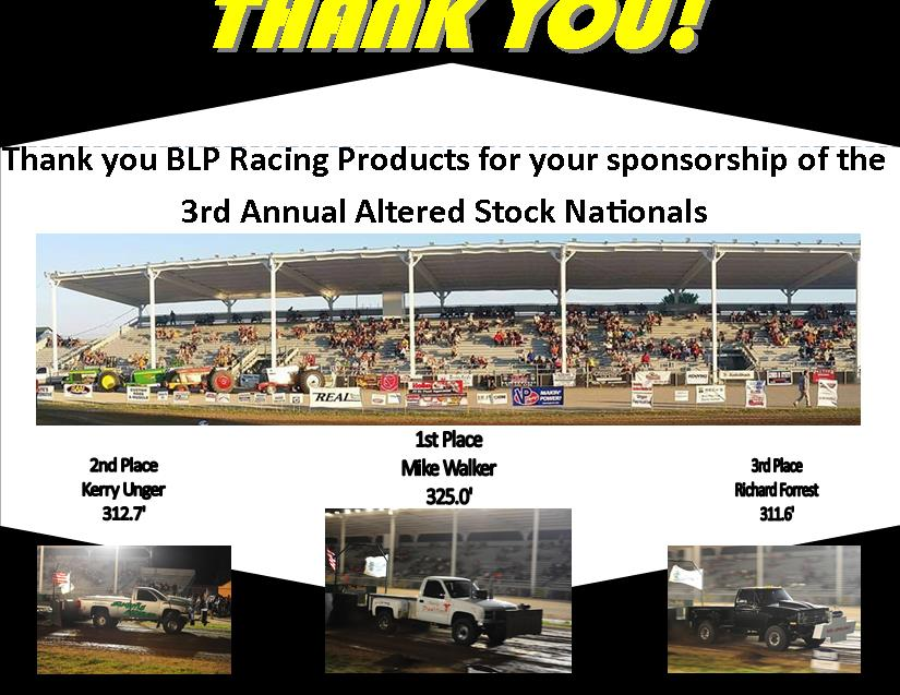 BLP Racing Products
