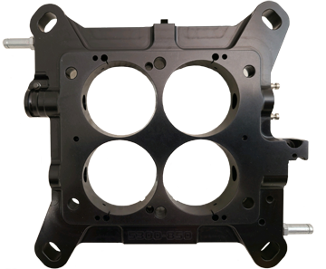 Advanced Engine Design 6460 Carburetor Base Plate For 4150 style w//2 corner idle