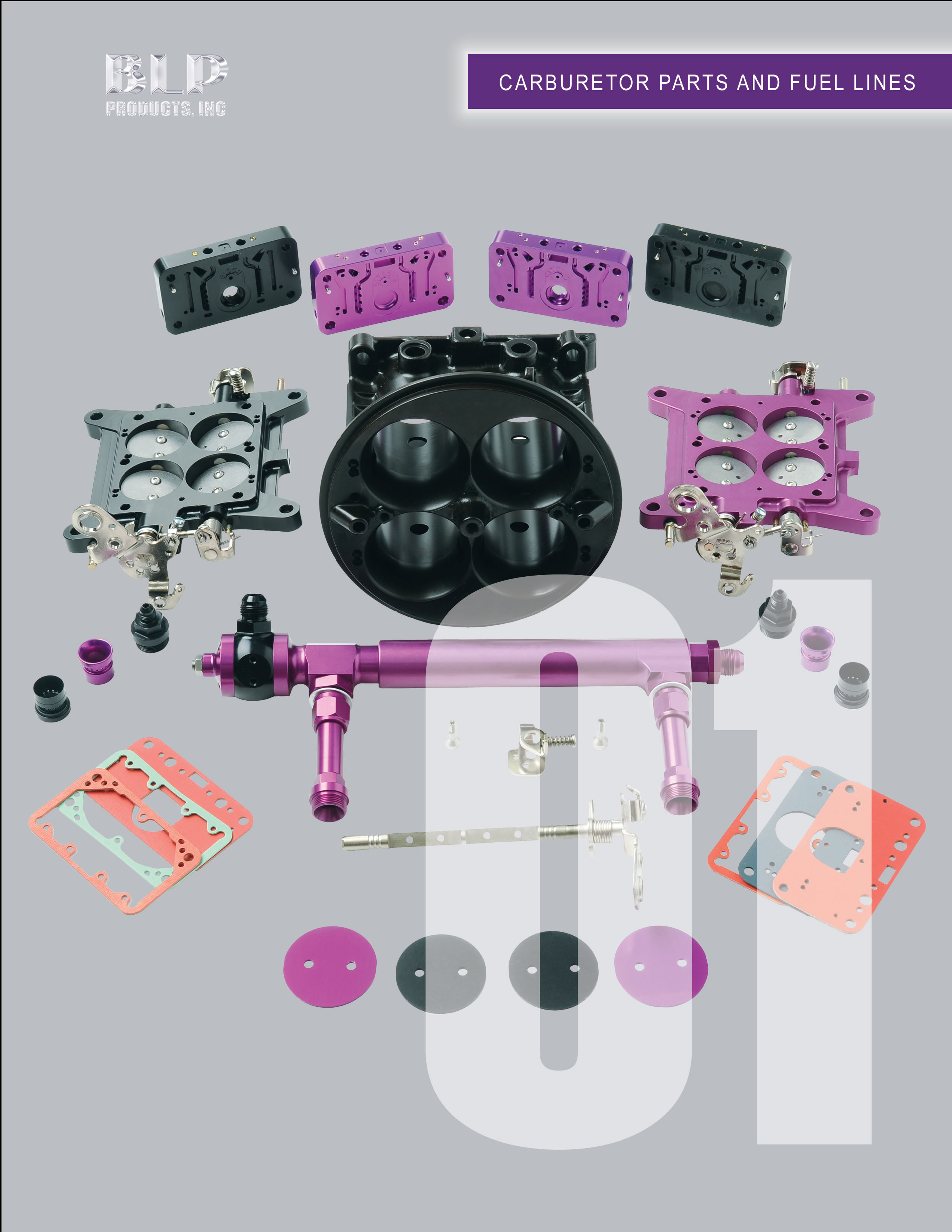 Carburetor Parts and Fuel Lines - BLP Racing Products, LLC